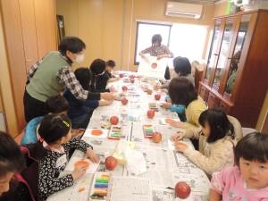 DSCN6956 リンゴ絵30%